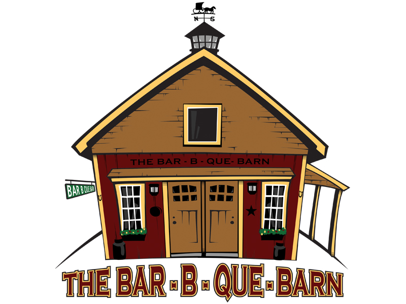 BBQ Barn Logo Design/Illustration